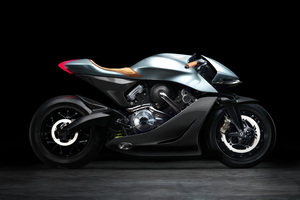 Vツインエンジンをターボで過給! アストンマーティンがレーストラック専用バイクを発表