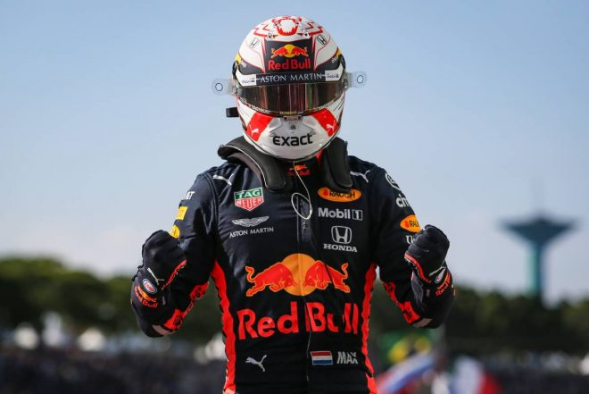 フェルスタッペンが自身2度目のポールポジション獲得!ホンダPU勢は3台がQ3進出/F1ブラジルGP予選