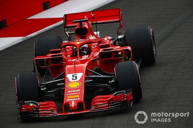 F1シンガポールGPフリー走行3回目:首位ベッテルが後続を大きく引き離す。フェラーリ1-2、ガスリーは14番手