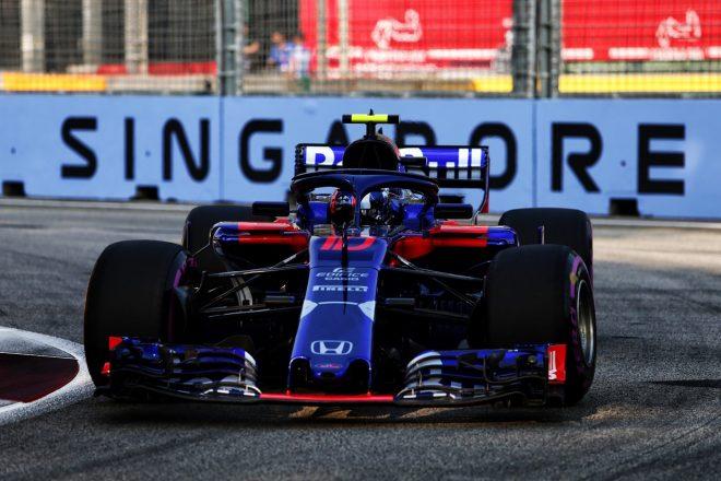 トロロッソ「予選パフォーマンスに大きな課題も、解決の糸口はつかんでいる」:F1シンガポールGP金曜