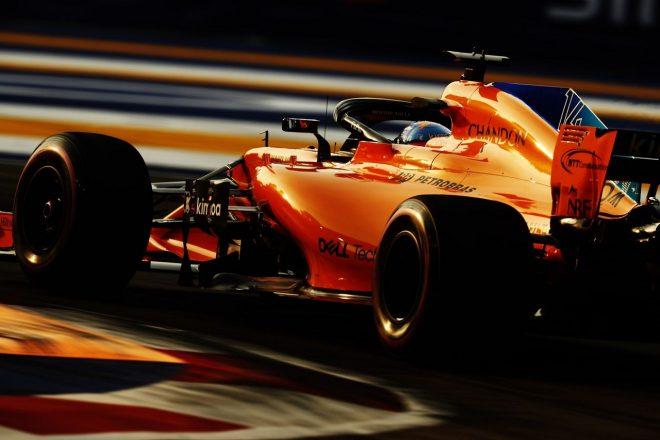 アロンソ「予選に向け準備は整っている。熾烈な戦いを勝ち抜き、Q3進出を果たしたい」:F1シンガポールGP金曜