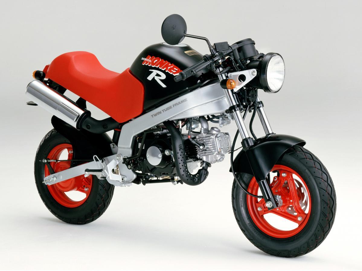 【モンキーR(1987)アーカイブ】モンキーなのにツインチューブフレーム! 馬力も3.1→4.5PSに!/ホンダ