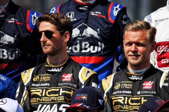ハースF1、2020年シーズンもグロージャンとマグヌッセンのラインアップ継続を発表