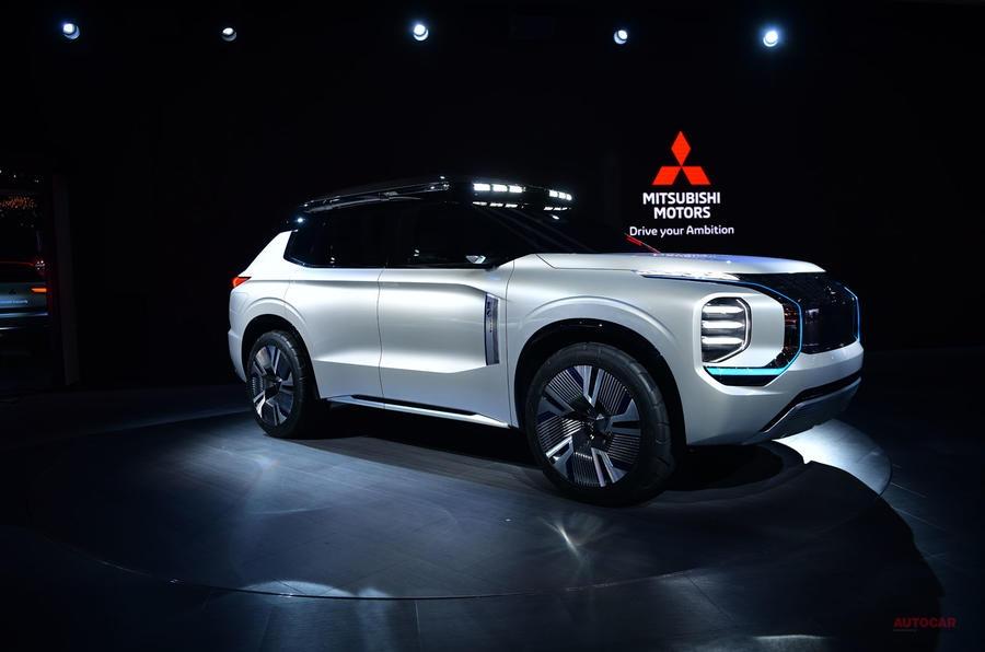 三菱自動車 東京モーターショーで小型SUVコンセプトを世界初披露