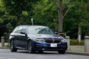 BMW 5シリーズ ツーリングに試乗。日常領域でも満足できる直6ターボの魅力