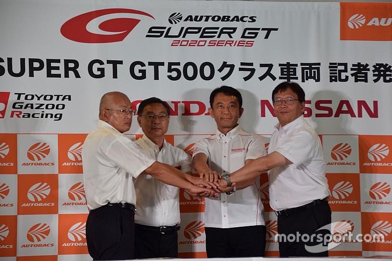 スーパーGT新GT500マシン発表の3社が意気込み。ホンダは発表後の鈴鹿テストに参加せず