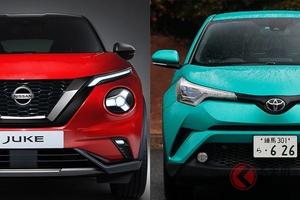 奇抜なデザインはどっち? 日産新型「ジューク」とトヨタ「C-HR」を比べてみた