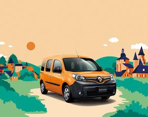 フランスのもっとも美しい村をイメージ! オレンジ色「ルノー カングー クルール」登場
