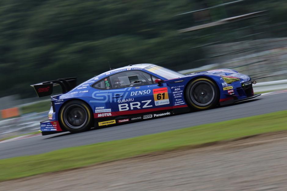 リタイヤの原因を探るSUBARU BRZ GT300 スーパーGT第6戦オートポリス