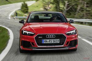 アウディRS4/RS5に「カーボン・エディション」欧州で追加 最大80kg軽量に