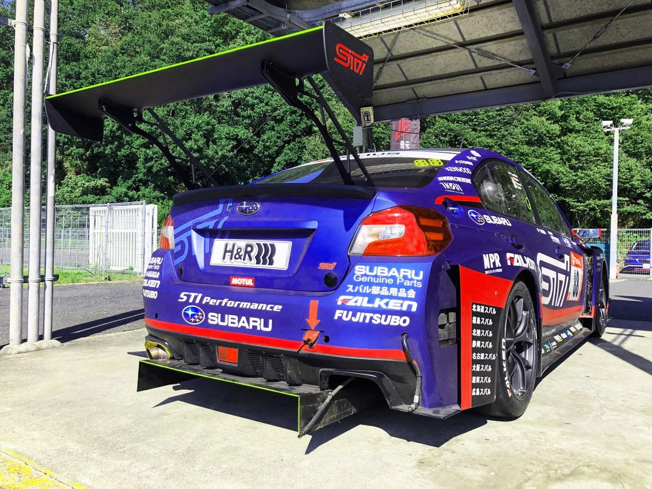 ニュル24時間耐久でクラス優勝を果たしたWRX STIが帰ってきた