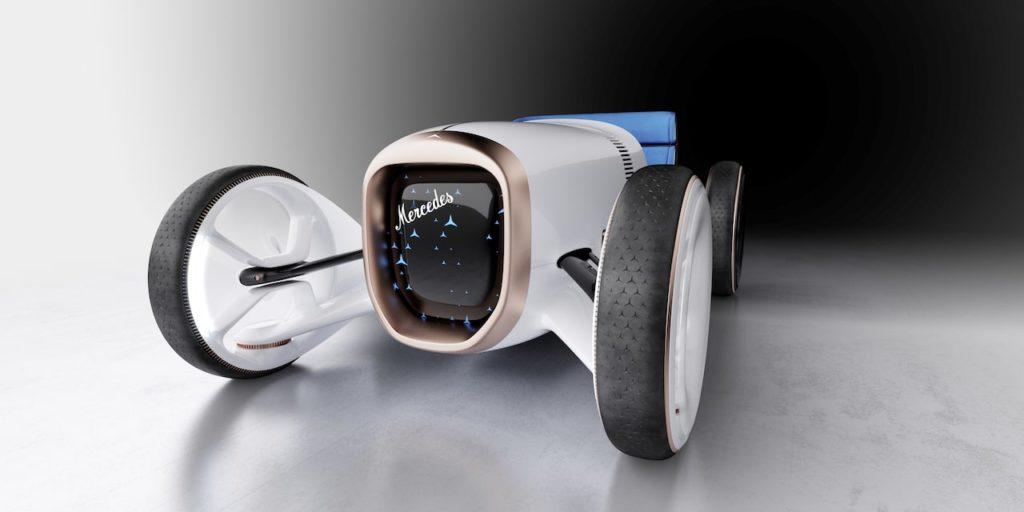 ヴィジョン メルセデス シンプレックス 公開! 近代自動車の祖メルセデス 35hpをオマージュ