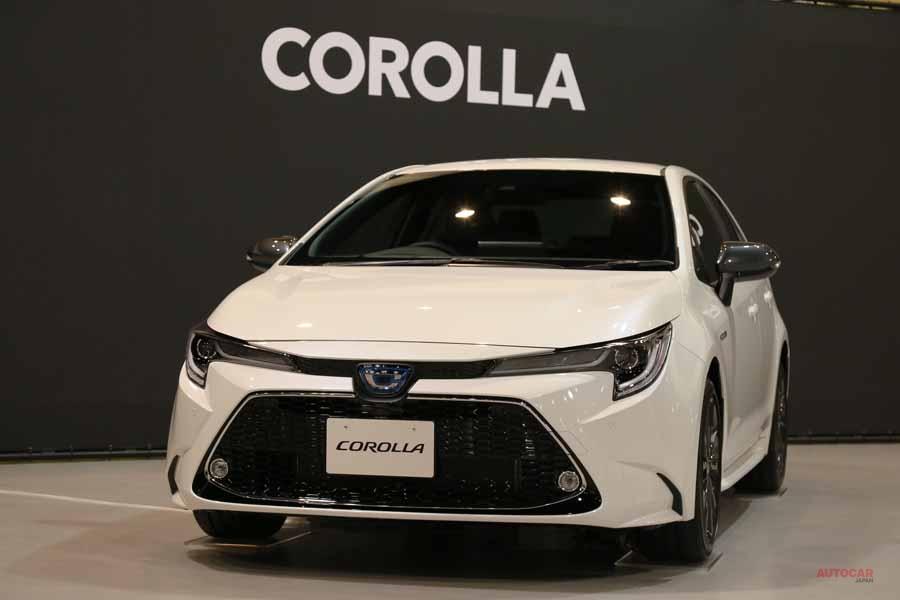 実車 トヨタ新型カローラ・ハイブリッドWxB 3ナンバーになったセダンの外観/内装/走り