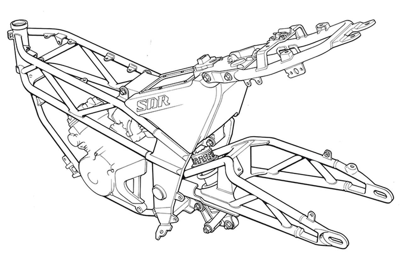 YAMAHA「SDR」200ccの2スト単気筒ワインディングスペシャル -1987年-【心に残る日本のバイク遺産】2サイクル250cc史 編