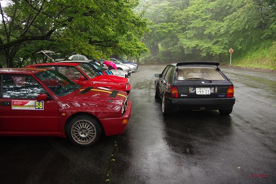 公道を合法的にSSラリー風走行 桜山公園ショート・ヒルクライム 地元との絆を大切にして
