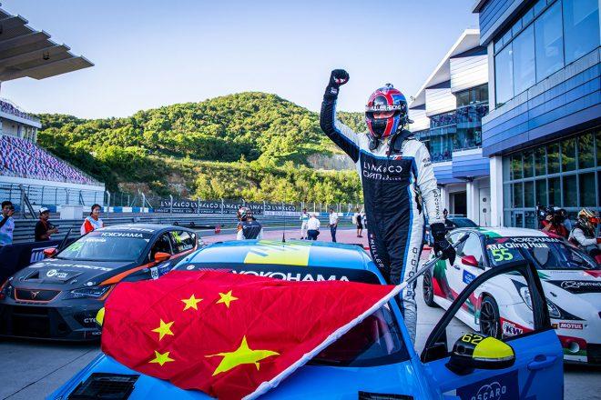 WTCR中国:新興『Lynk&Co』が2勝で地元席巻。ランキング首位はヒュンダイが奪う