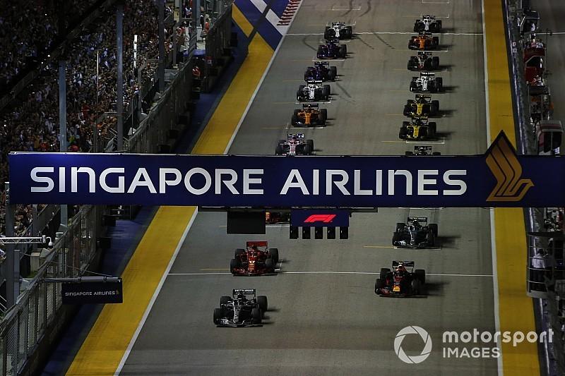 大気汚染に見舞われるF1シンガポールGP。グランプリ主催者も対策を準備