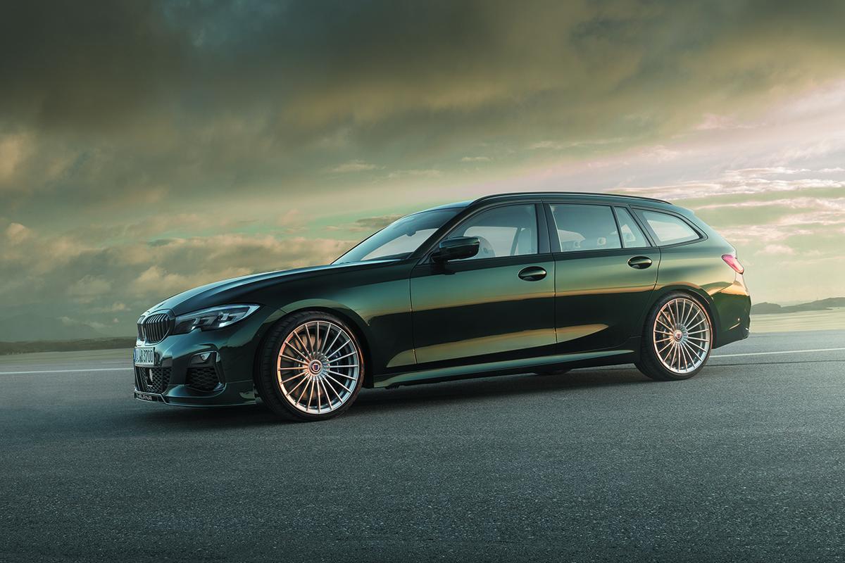 462馬力の俊足ツーリングワゴン! BMWアルピナB3ツーリングアルラッドが誕生