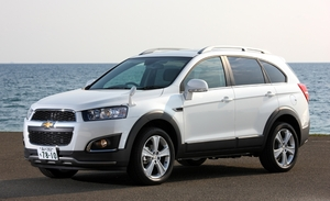 GM  ミッドサイズSUV「シボレー キャプティバ 」2日間のモニター・キャンペーン