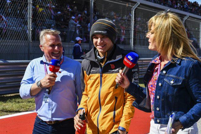 ノリス7位「リカルドには勝てなかったが、いいレースができた」:マクラーレン F1アメリカGP