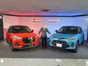 ダイハツ コンパクトSUV市場に復帰 新型「ロッキー」を発売 トヨタ向けも供給