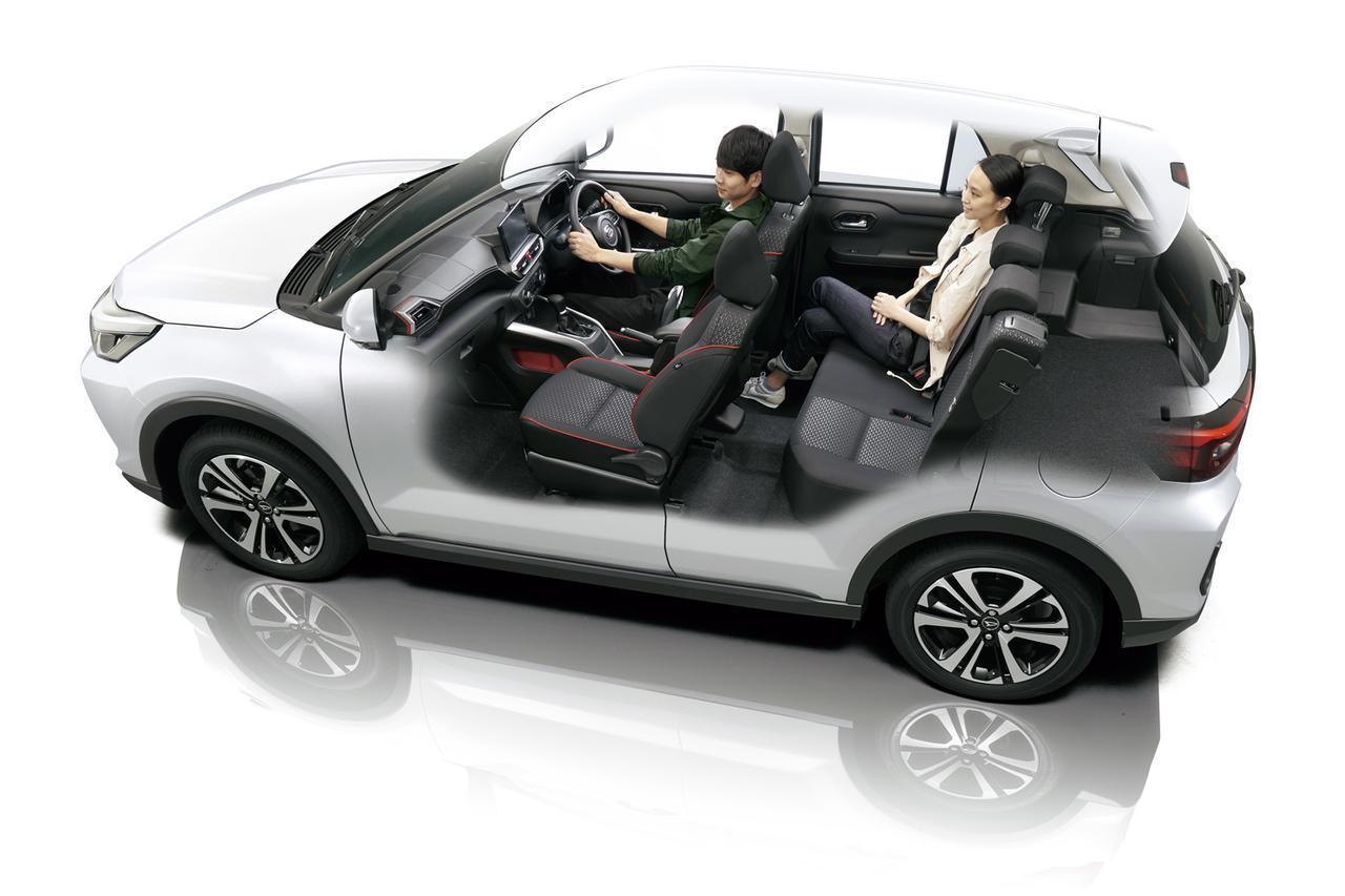 トヨタとダイハツ、共同開発の新型コンパクトSUV「ダイハツ ロッキー」と「トヨタ ライズ」を発売