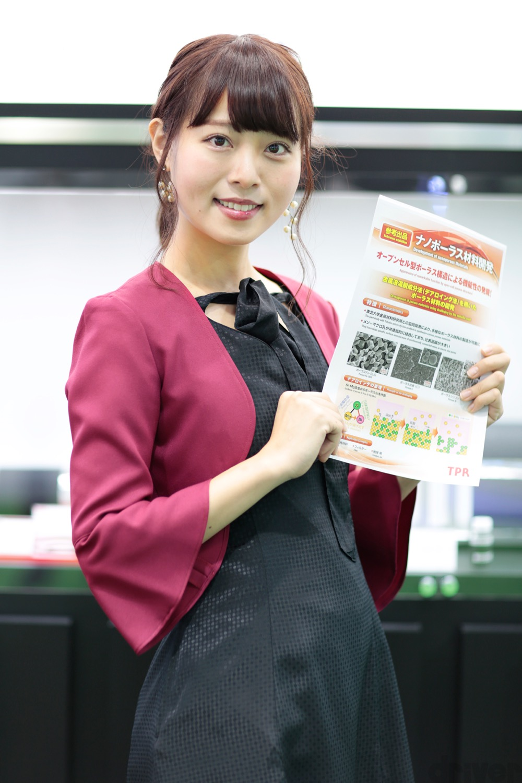 【TMS2019】美女コンパニオン図鑑……ひと言コメントもあり!