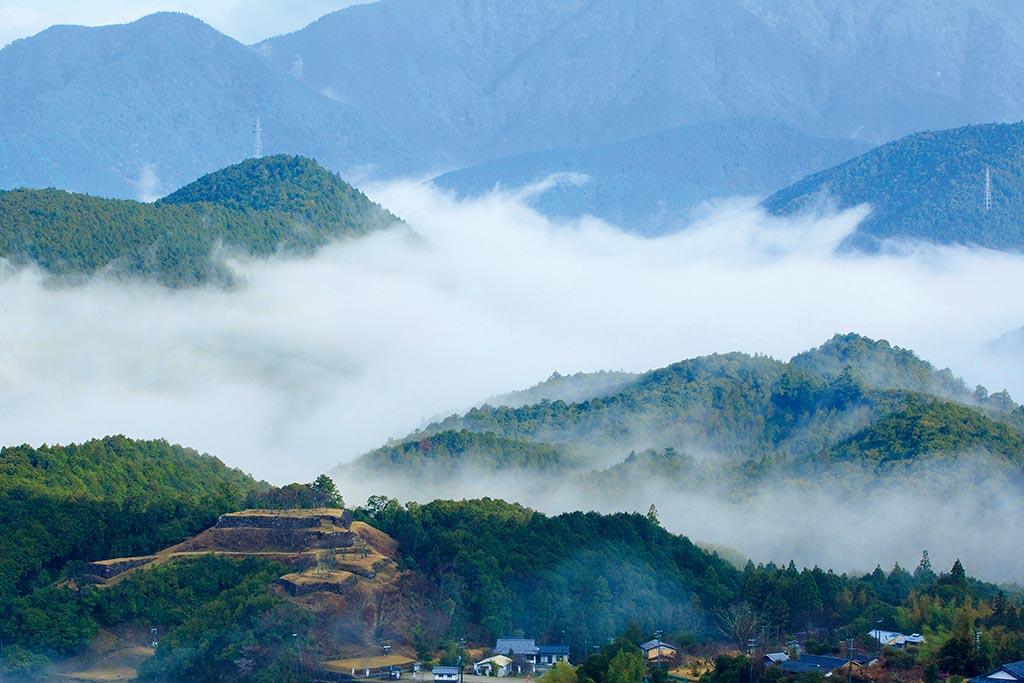 「熊野のマチュピチュ」とも呼ばれる城跡(三重県 赤木城跡)【雲海ドライブ&スポット Spot 57】