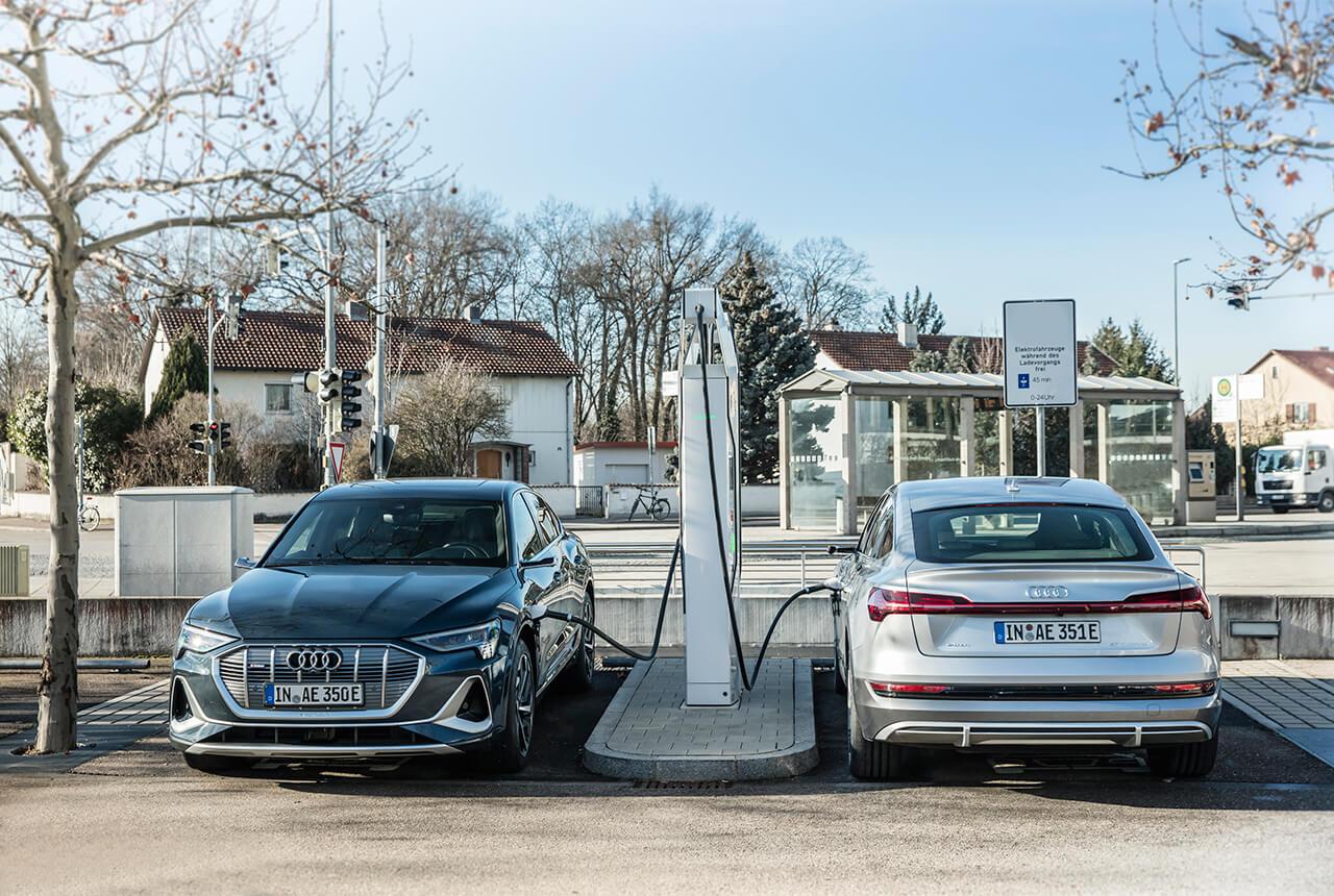 EVを後押し! アウディが自社サイトの充電インフラに1億ユーロを投資