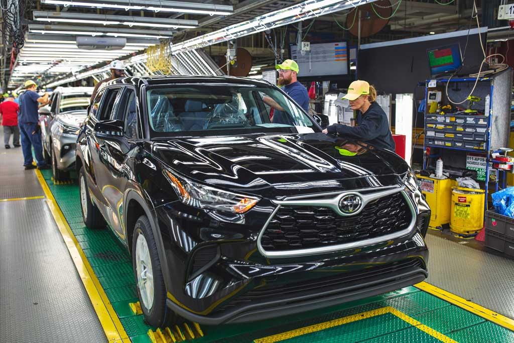 トヨタ、13億ドルの巨費を投じてインディアナ工場を刷新!
