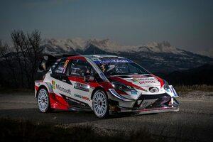 WRCモンテカルロ:トヨタのオジエがシェイクダウン最速。エバンスが0.6秒差の3番手