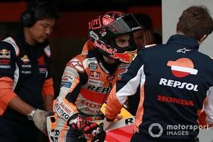 """【MotoGP】「コップも持ち上げられない状態だった」マルク・マルケス、開幕戦で""""全快""""を目指す"""