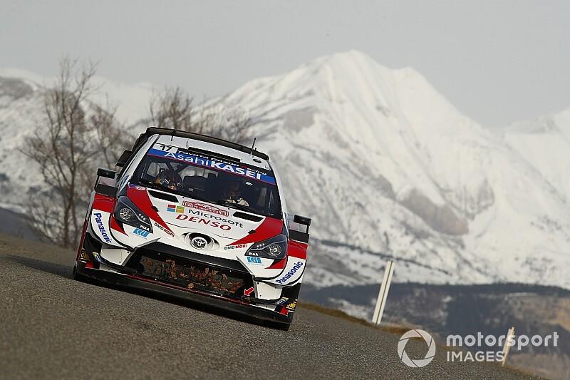 【WRC】トヨタのオジェ、シェイクダウン最速。難関モンテに油断せず「謙虚な姿勢で臨む」