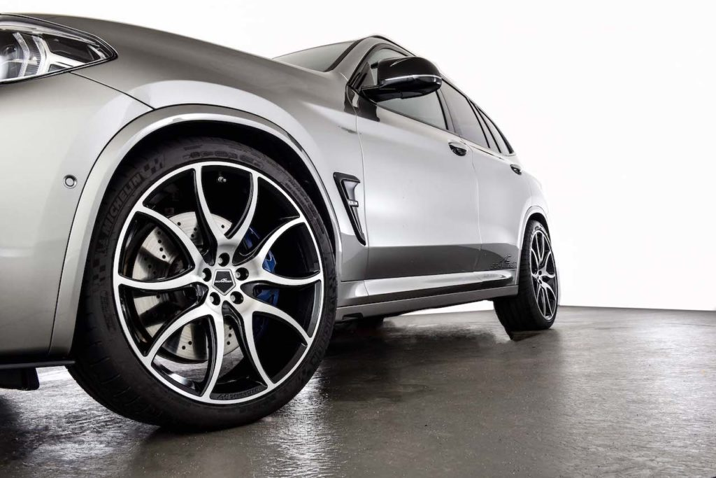 BMW X3 Mを600hpにパワーアップ! ACシュニッツァーのニュープログラム登場