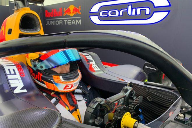 角田裕毅インタビュー:F1を意識して戦う2020年。マルコ博士から課された『ランキング4位以内』