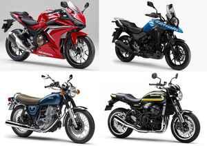 いま一番高値が付きやすいバイクは何だ? バイク王が2020年3月~5月の「リセール・プライス」ランキングを発表!