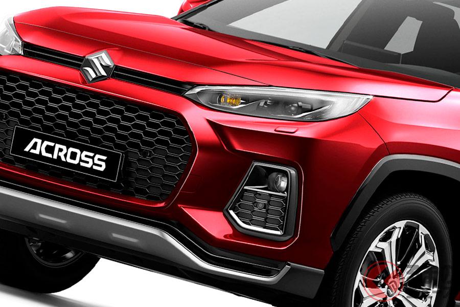 スズキ版「RAV4」世界初公開! 新型SUV「アクロス」お披露目へ