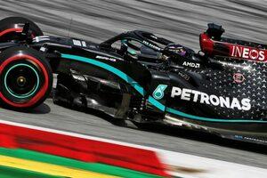 F1オーストリアGP FP2:初日はメルセデスが上位独占。レーシングポイントのペレスが3番手に