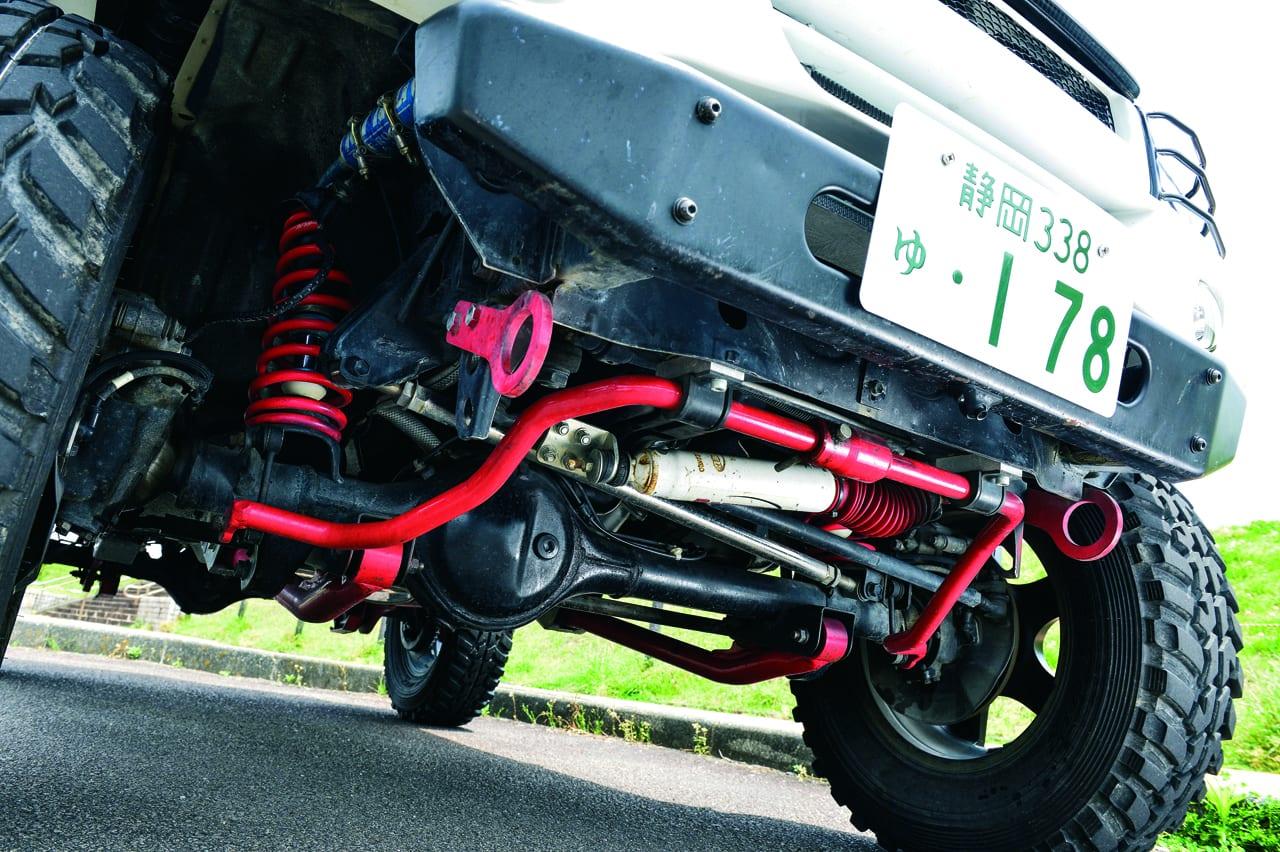1.8リットルのエンジンにターボを付けたファイティング・ジムニー JB43型ジムニーシエラ カスタマイズ