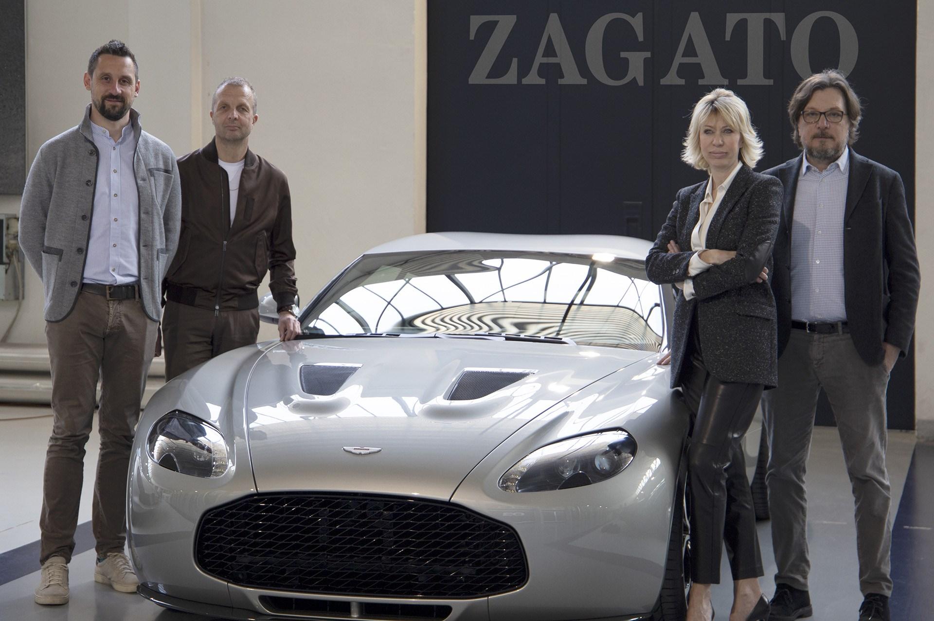 アストンマーティン、ヴァンテージV12 ザガート・ヘリテージ・ツインズを発表 ザガート創立100周年を記念
