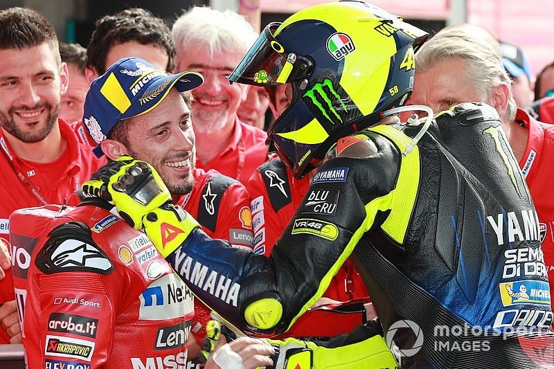 【MotoGP】バレンティーノ・ロッシと同じようにタイトルを獲っていたら、既にMotoGPを引退していたはず……ランキング首位ドヴィツィオーゾ語る