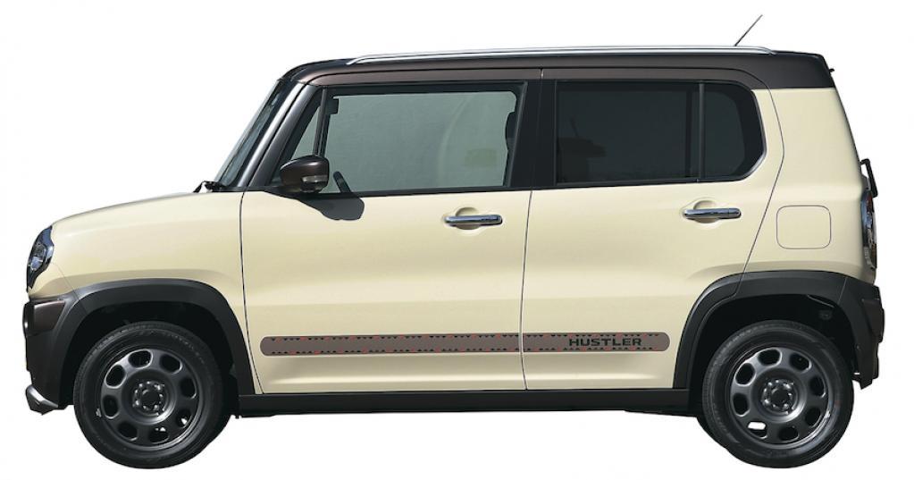 """〈スズキ・ハスラー〉SUV仕立ての""""遊べる軽""""【ひと目でわかる軽自動車の魅力】"""