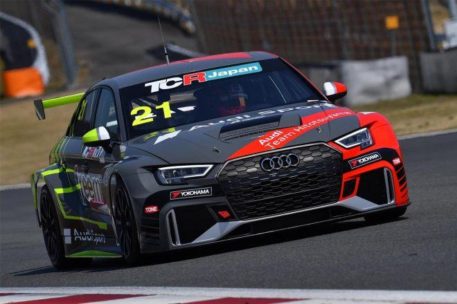 TCRジャパン:Hitotsuyama RacingがアウディRS3 LMSで開幕戦オートポリスに参戦へ。篠原拓朗を起用