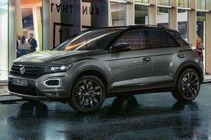 【さらに目を引くスタイリング】VW Tロック ブラックエディション 前輪駆動 英国発表