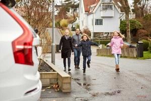 ボルボ、一般家庭に「XC90」提供 自動運転実験に 「Drive Me」の一環