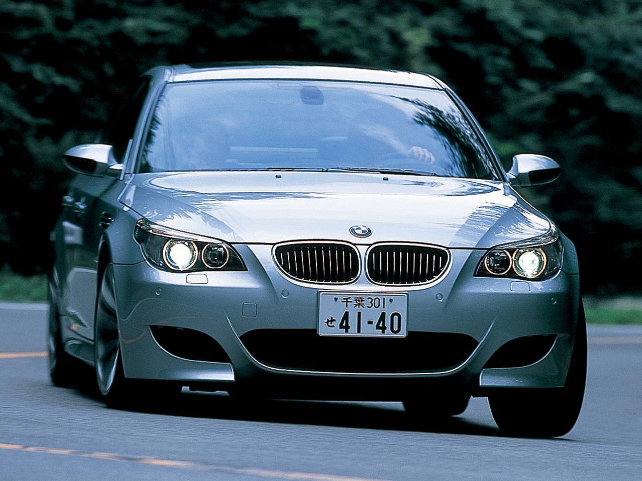 【ヒットの法則90】E60型BMW M5のスポーツ度をメルセデスE55 AMG、ポルシェ911カレラSと比較