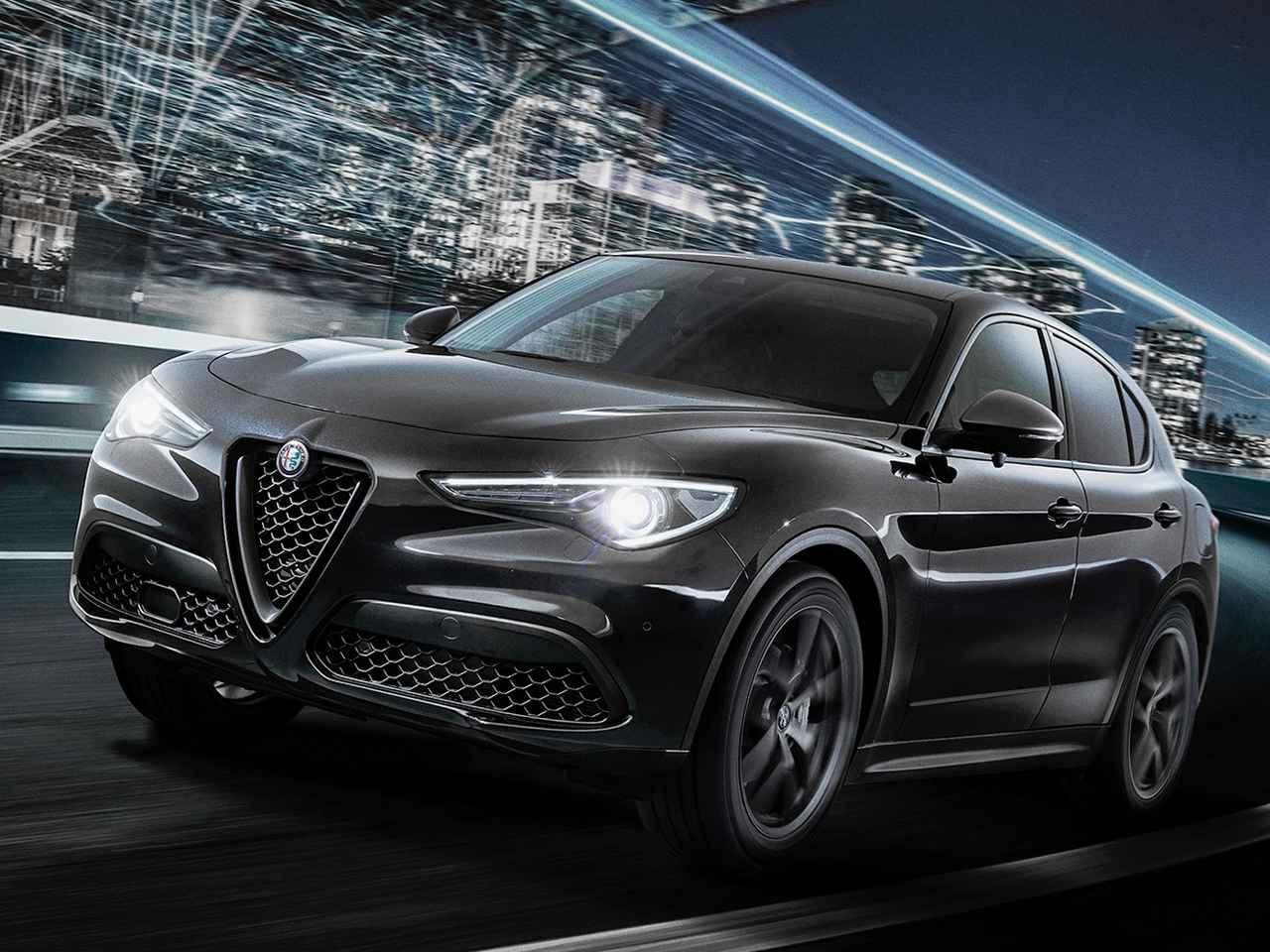 アルファロメオ ステルヴィオに限定車「2.0ターボ Q4 モノクロームエディション」が登場