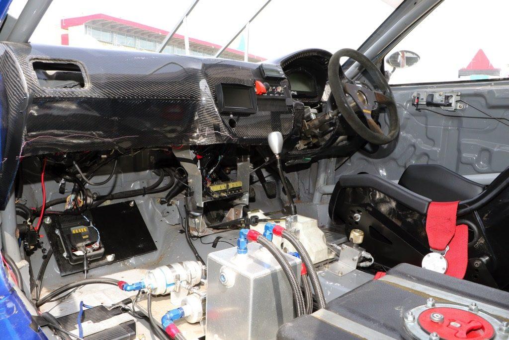 「目指すは日本一速いシビックの称号!」865キロの軽量ボディとK24改300馬力の心臓部で勝負!