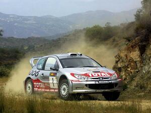 【WRC名車列伝 (6)】プジョー206 WRC(1999-2003)は日本車全盛時に登場し新たな時代を切り拓いた
