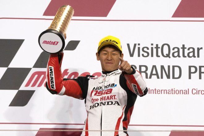 MotoGP:日本人初のMoto3優勝を果たした鳥羽海渡、勝利を喜ぶも「これがやっとスタートライン」